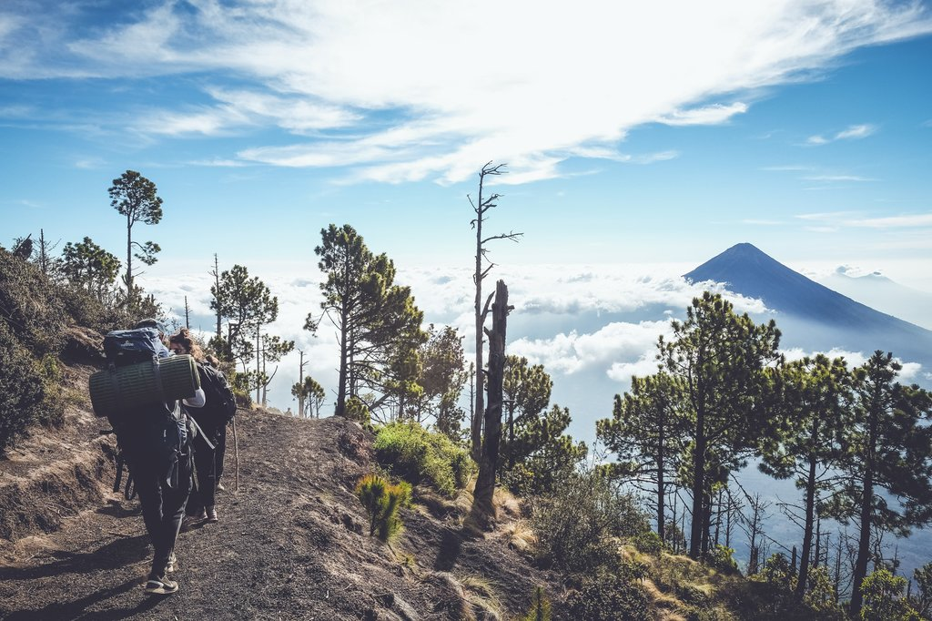Hike to the top of Acatenango, Guatemala's third tallest volcano