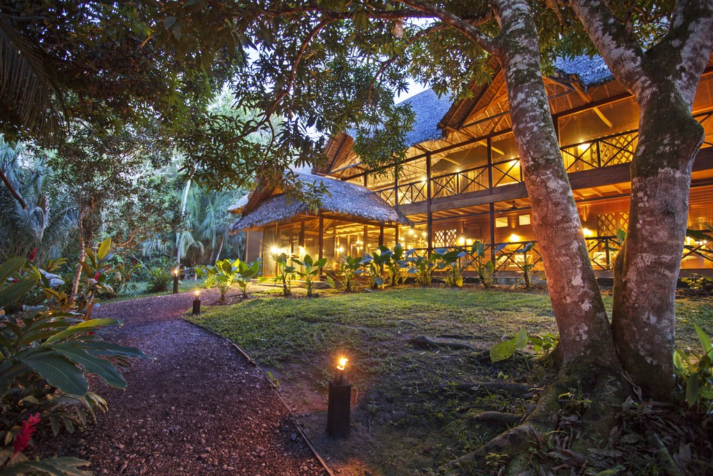 Stay in the warm and welcoming Hacienda Concepcion, and fall asleep to the sounds of the jungle