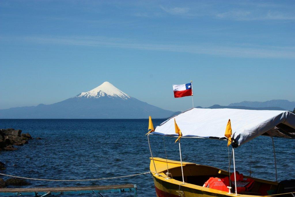 Strait of Magellan in Chile