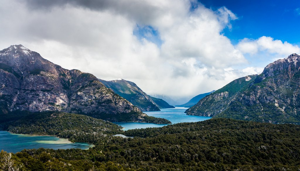 The stunning landscape of Bariloche.