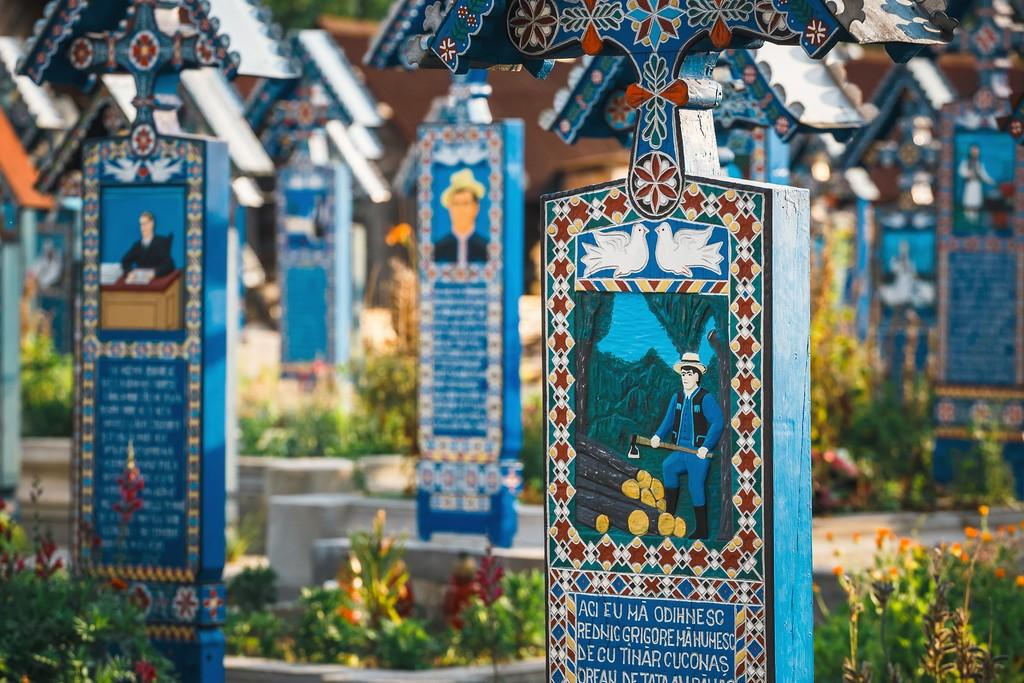 Merry Cemetery, Sapanta