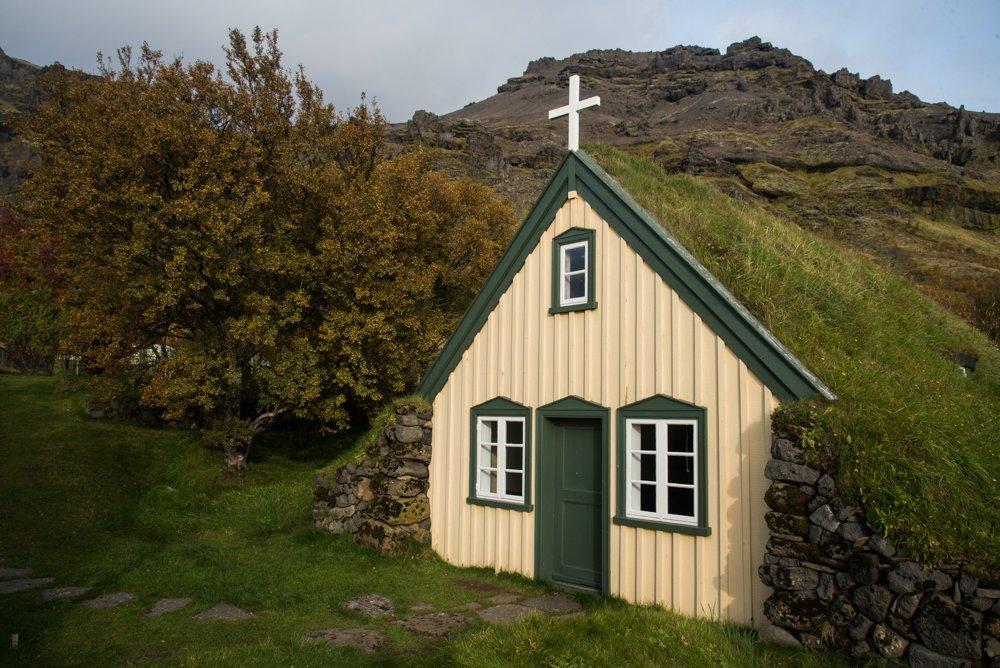 Turf church in Hof(photo by Chris McCarty)