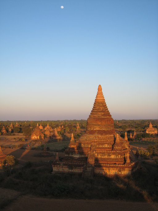 A view over the plains of Bagan