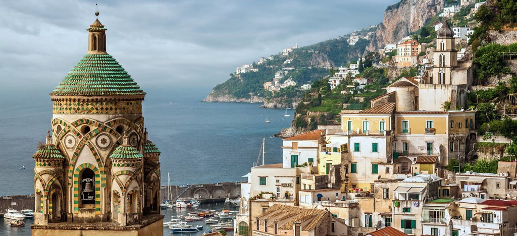 The breathtaking Amalfi Coast