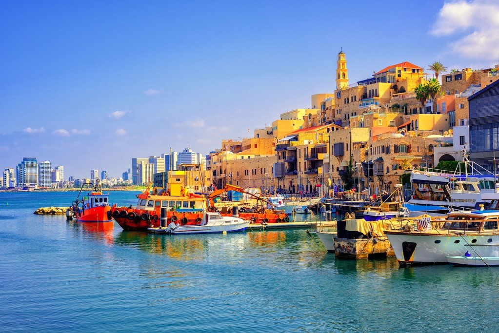 The port of Old Jaffa