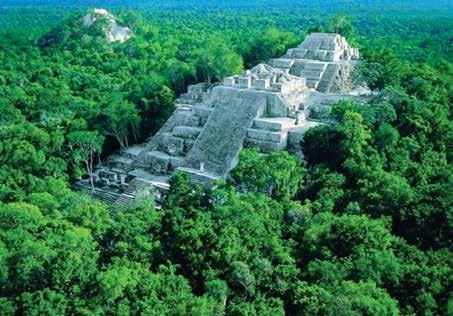 Mayan ruins at El Mirador