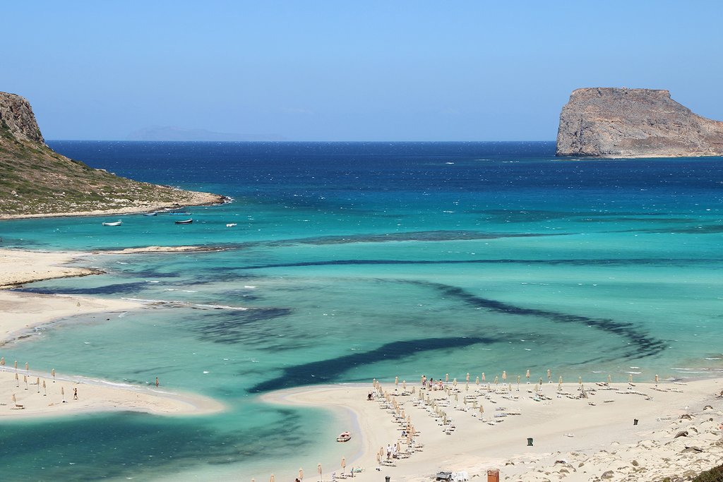 The azure waters and pink sands of Balos