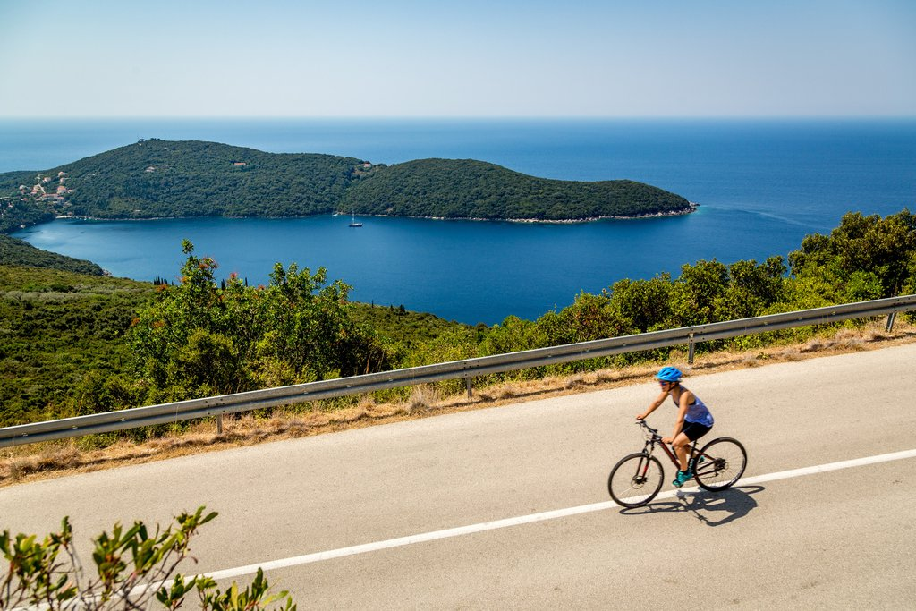 Cycling the Konavle Valley along the Adriatic Sea