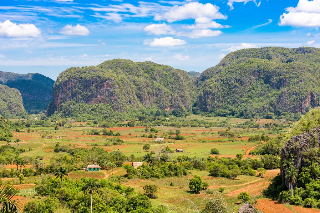 The enticing countryside around Vinales, one of Cuba's most photogenic destinations