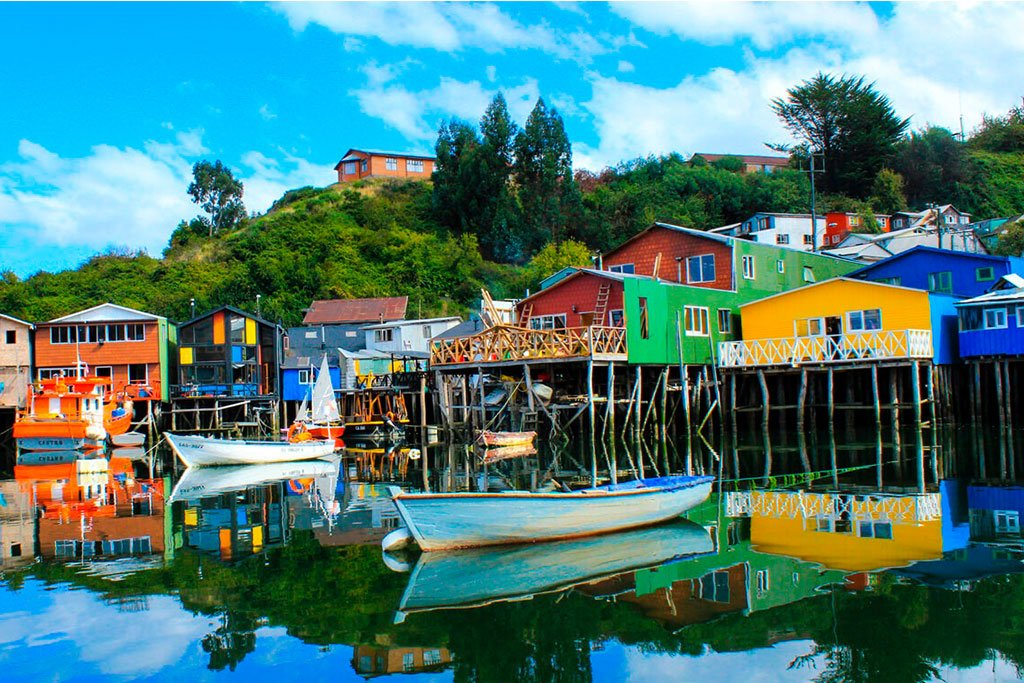 Chiloe harbor