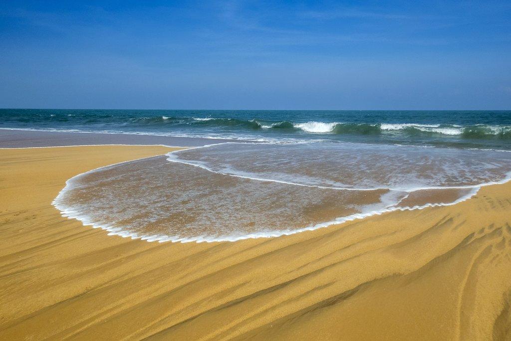 Beach in Arugam Bay