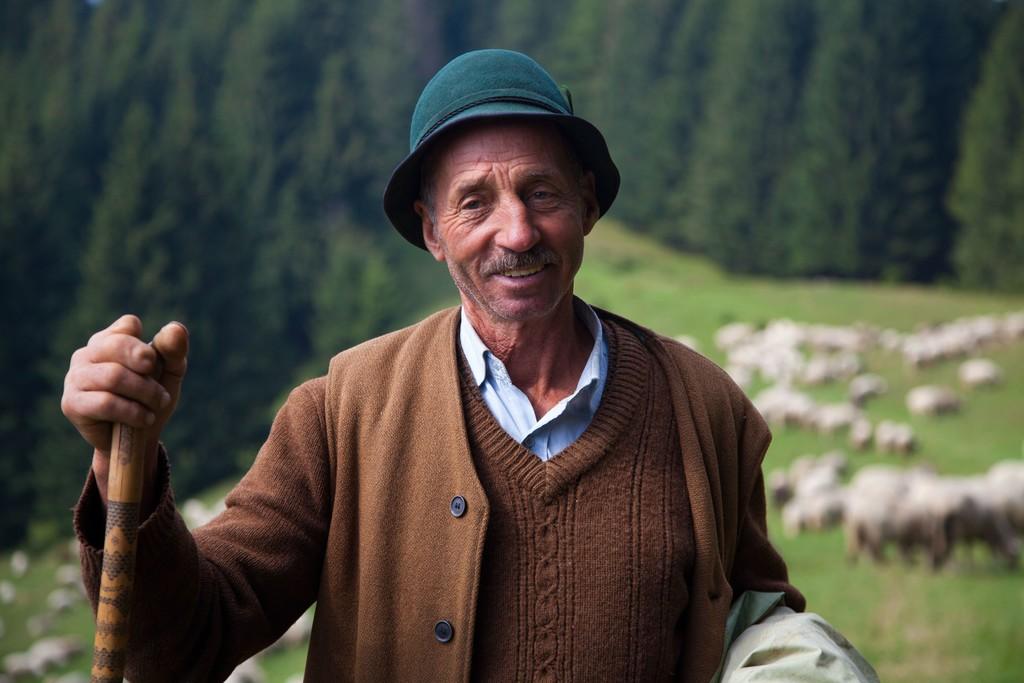 Traditional Romanian Shephard