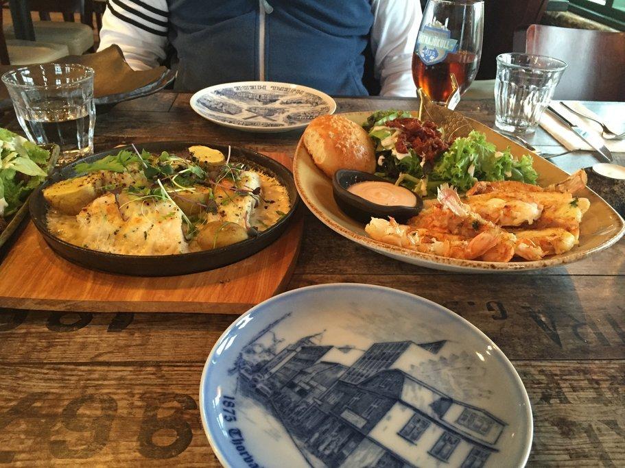 Fresh fishatPakkhus Restaurant,Höfn (photo byMarisa Komisar, kimkim traveler)