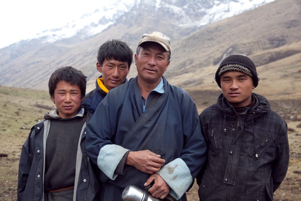 Local Bhutanese people