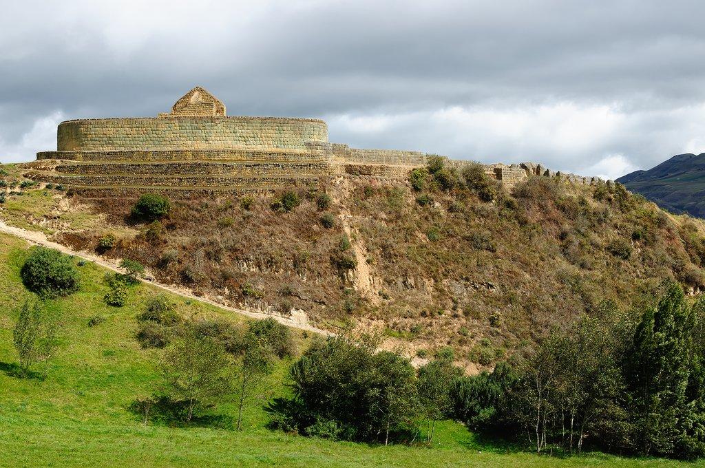 Ancient Incan ruins at Ingapirca