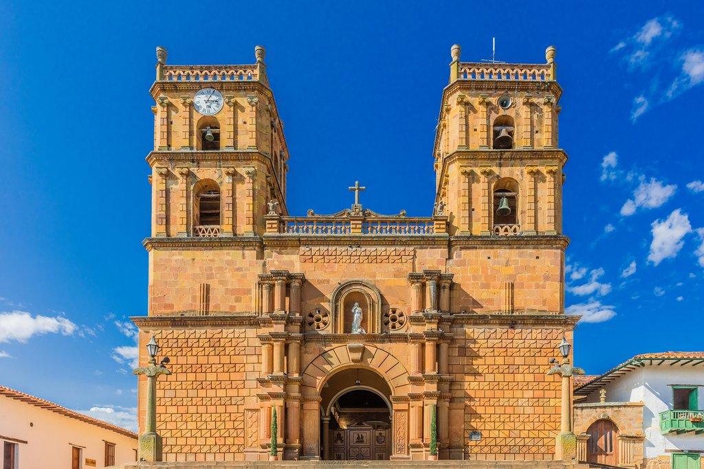 Cathedral of Barichara Santander