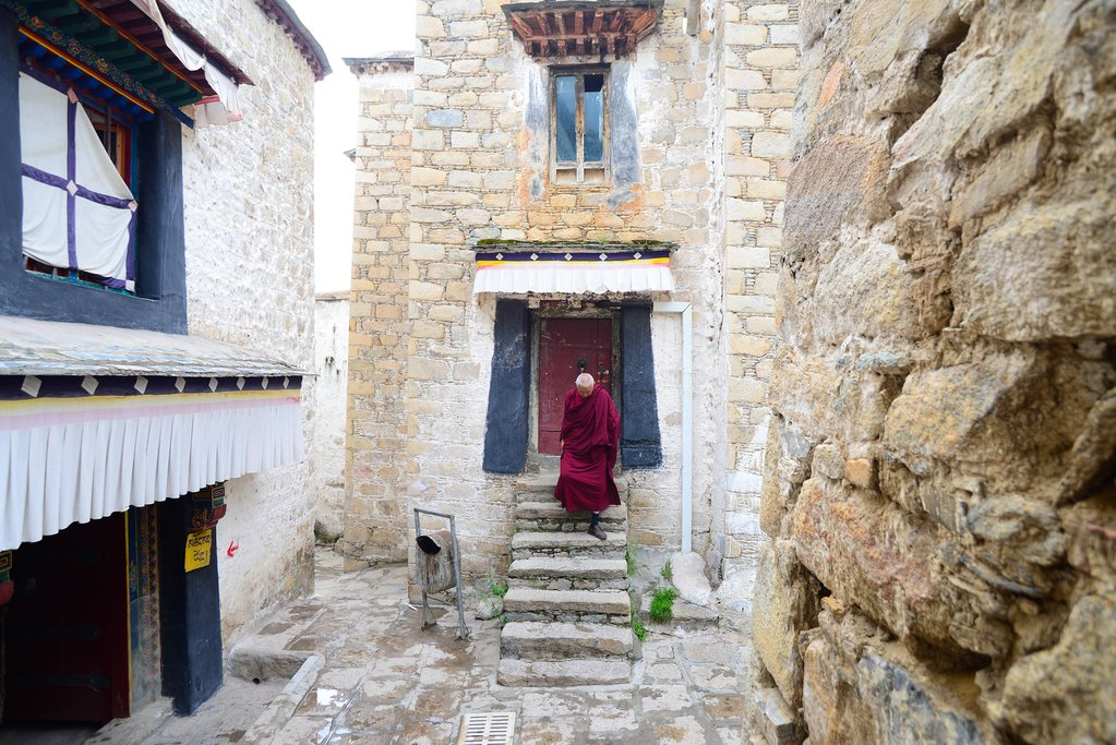 Deprung Monastery, Lhasa, Tibet, China