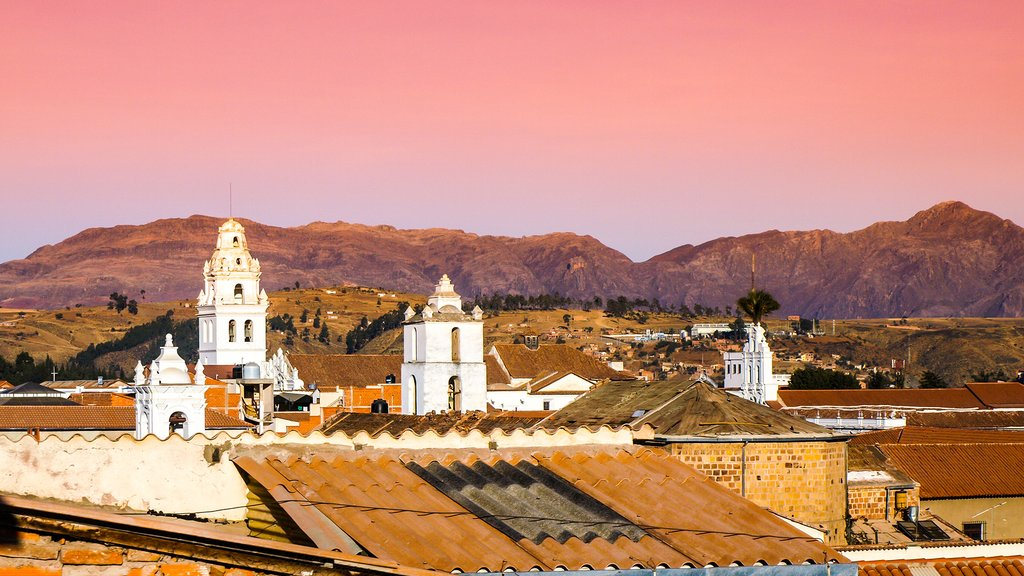 Sucre is Bolivia's most beautiful city