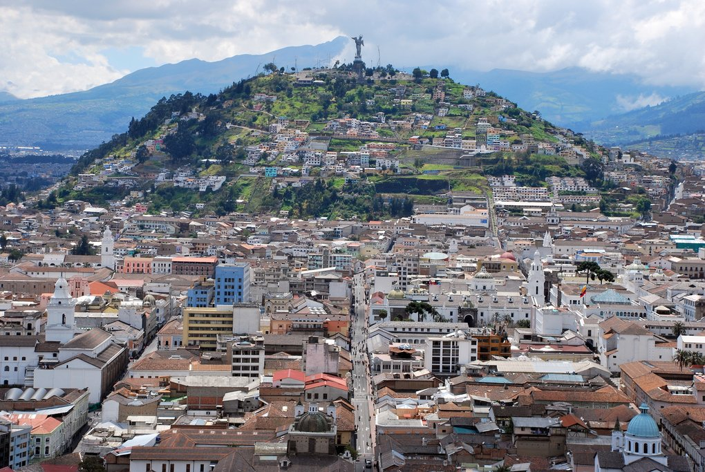 Quito's photogenic Old Town