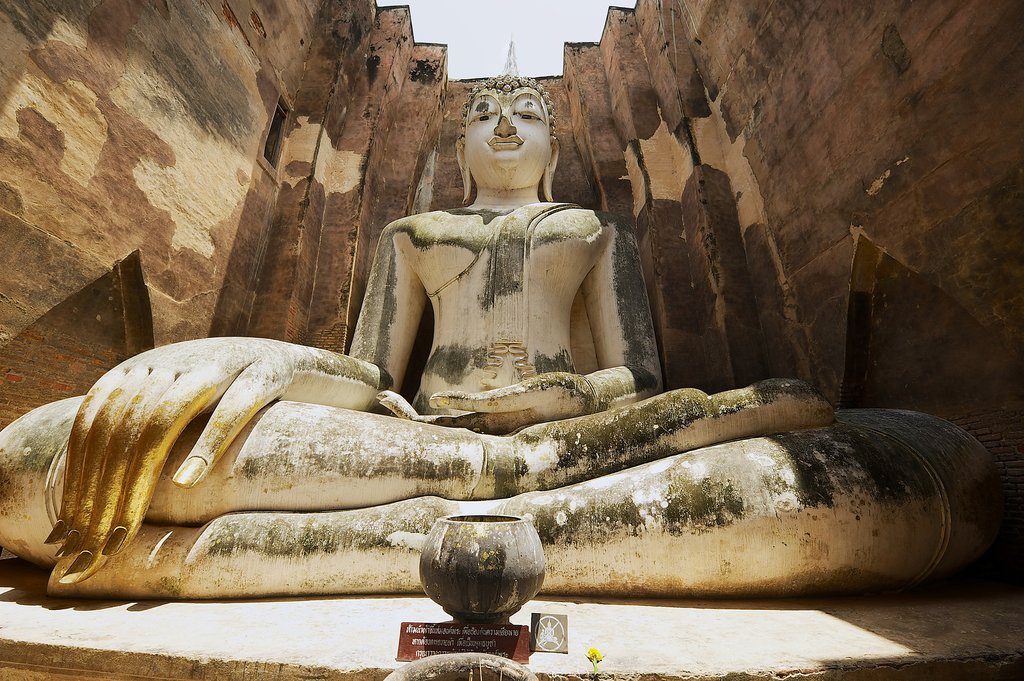 Large Buddha Sukhothai