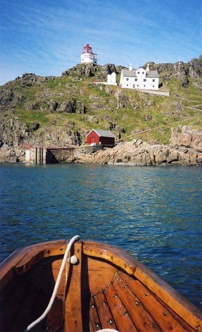 Take a boat trip to visit a historic lighthouse.