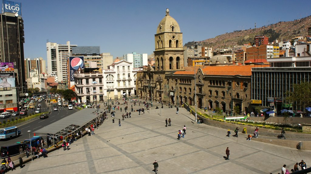 La Paz, located at11,942 ft, is the highest administrative capital in the world