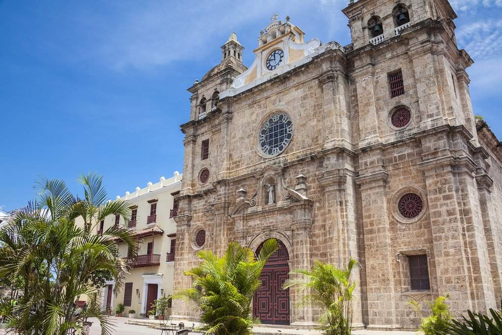 San Pedro Claver Church in Cartagena de Indias