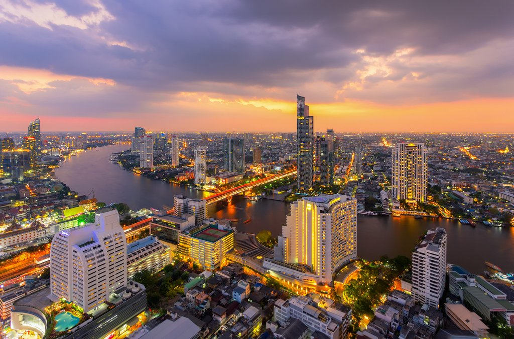 Bangkok at Sunrise