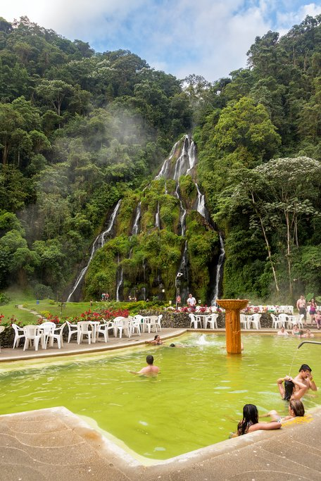 Hot Springs in Coffee Country