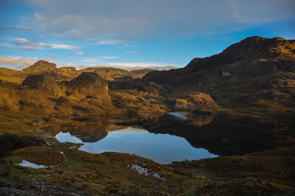 Otherworldly Parque Nacional El Cajas