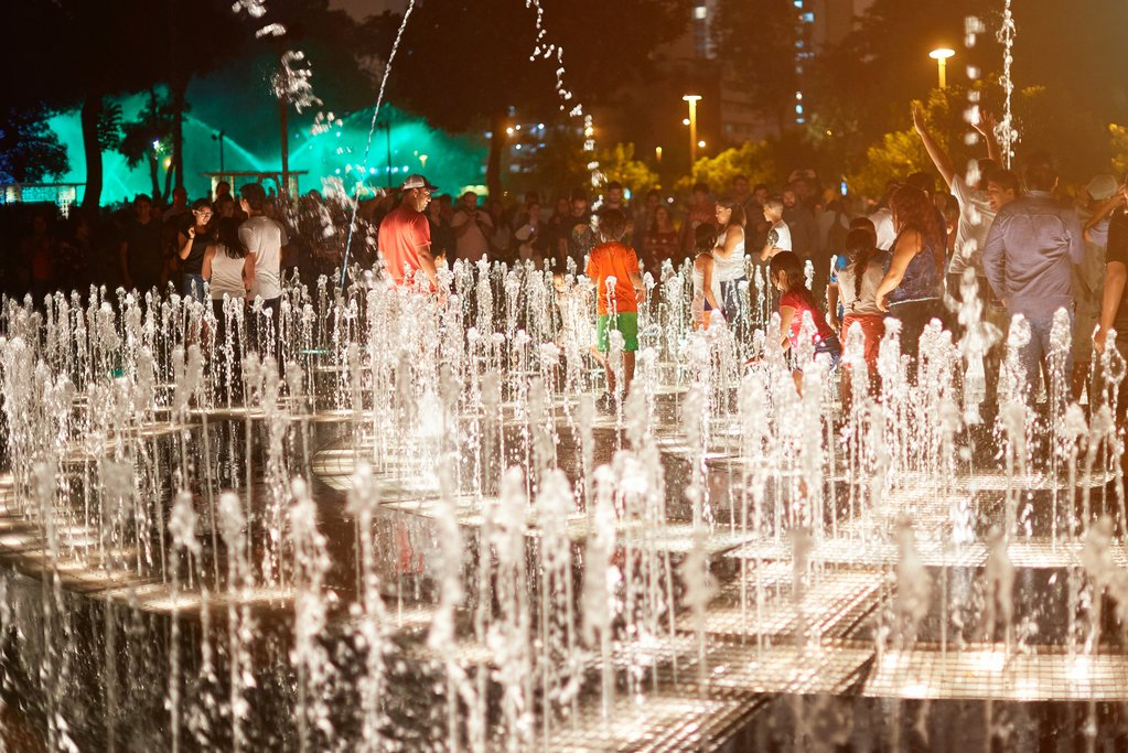 The Circuito Magico de Agua (magical water circuit) in Lima is brilliant fun for kids