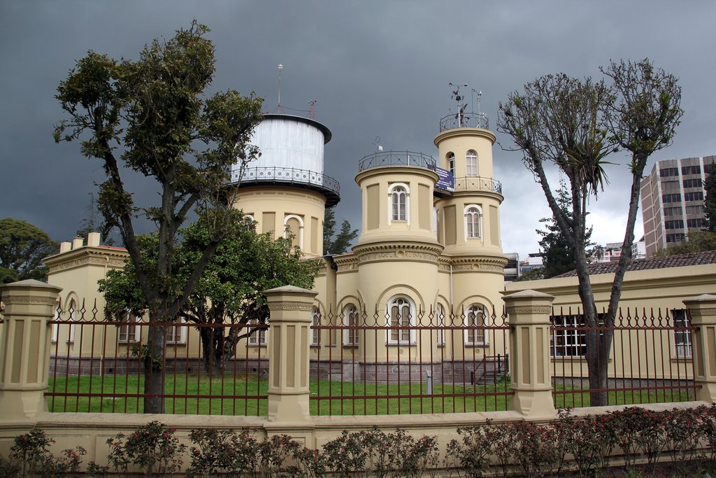 The oldest observatory in South America, in Quito