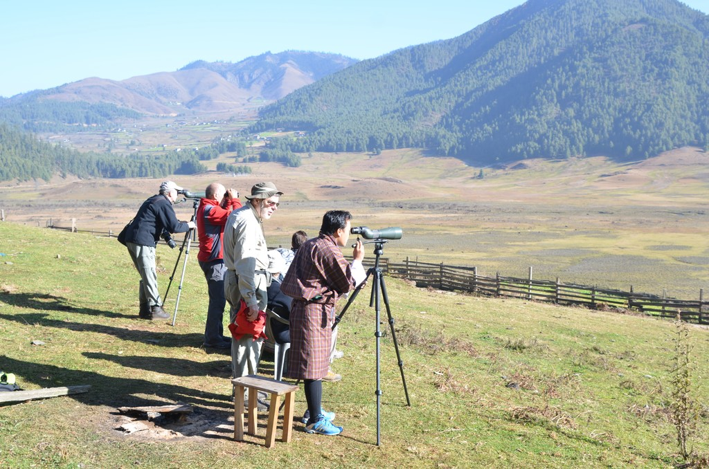 Sightseeing in Phobjikha Valley