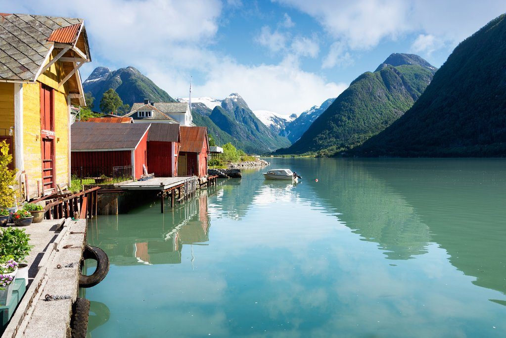 Make your way north to Fjærland and learn about Norway's glaciers