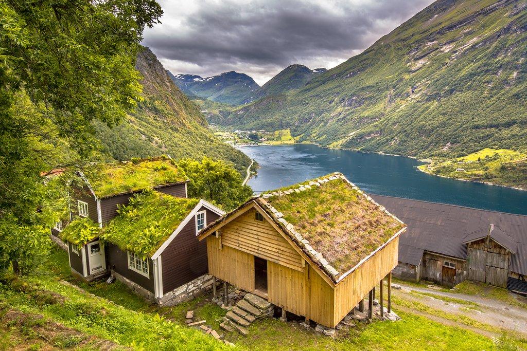 Geirangerfjord, More og Romsdal, Norway