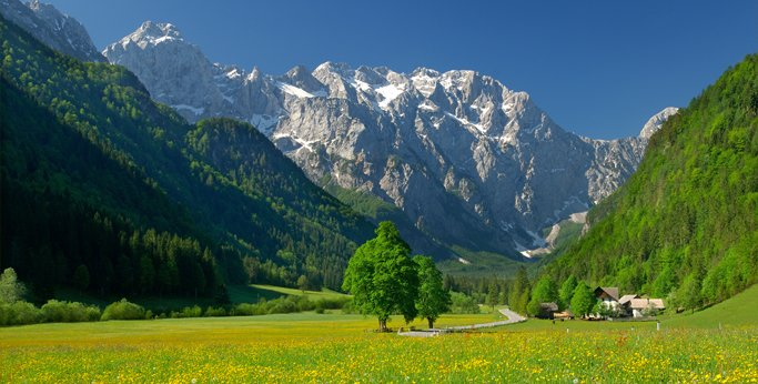 The Kamnik Alps