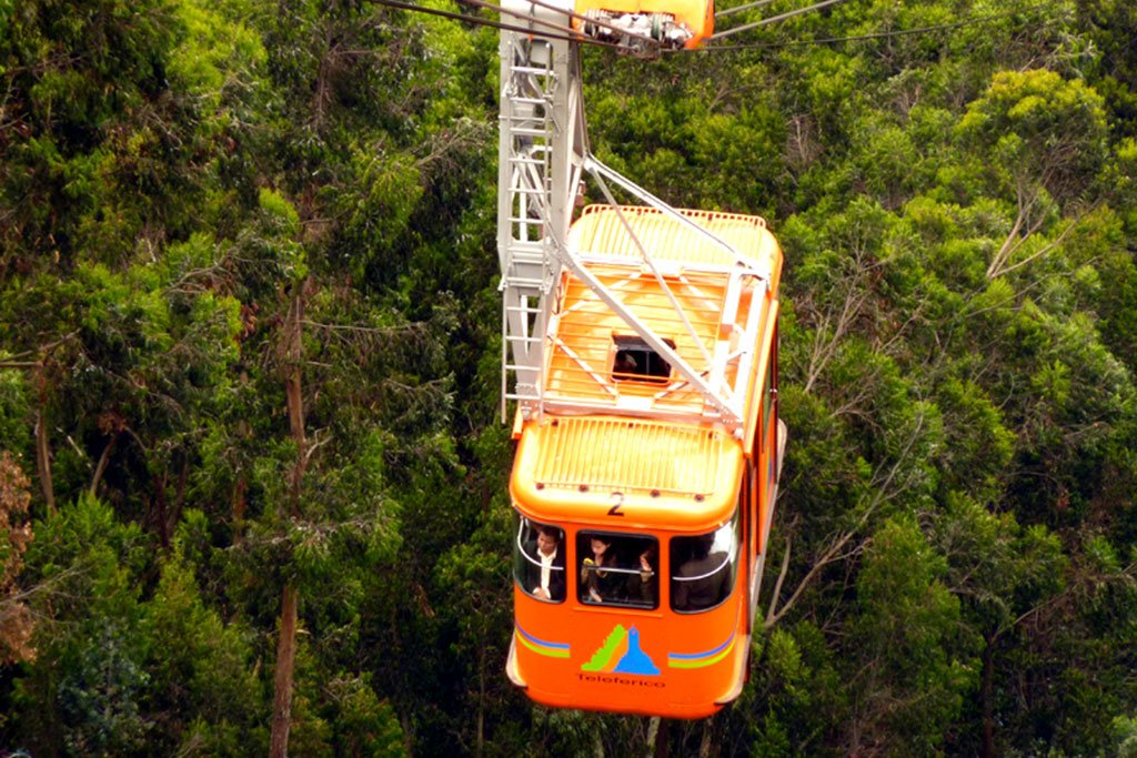 Monsrratte cable car