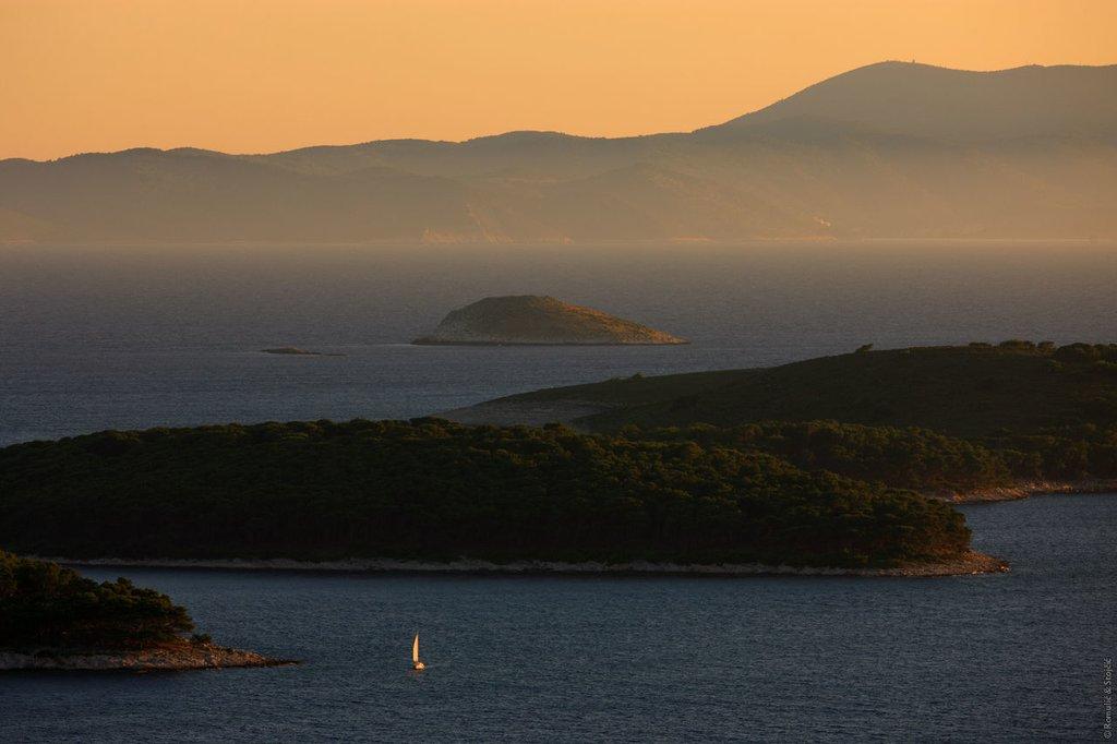 Sailing on the Adriatic