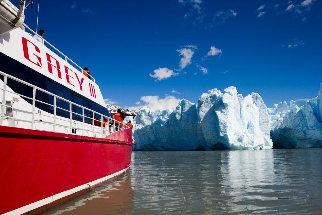 Grey Glacier boat tour