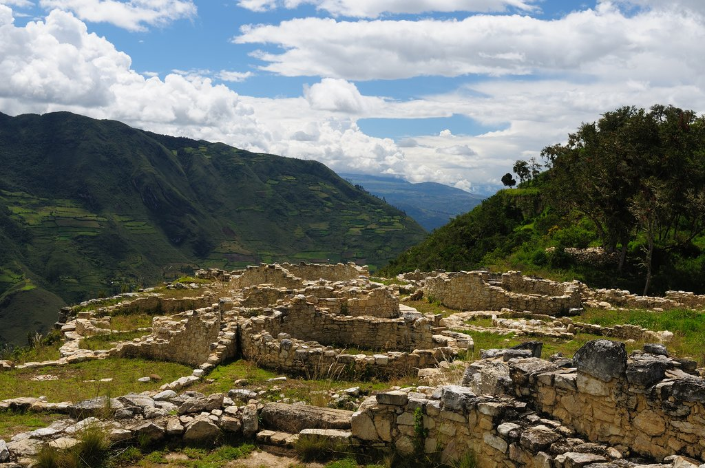The remote citadel of Kuelap near Chachapoyas