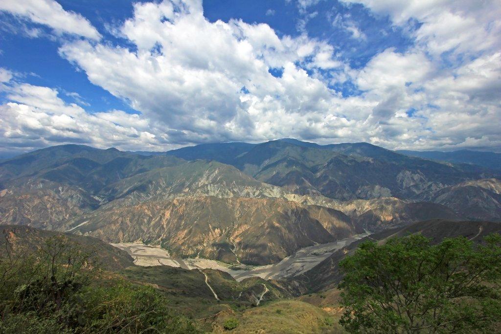 Stunning vistas near Bucaramanga.