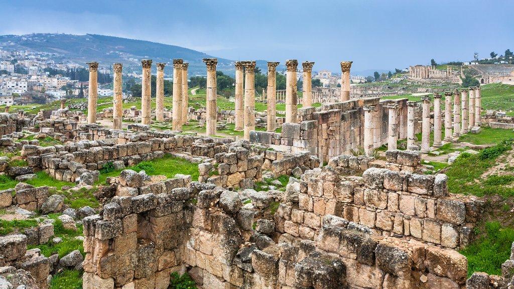 The ancient ruins of Gerasa