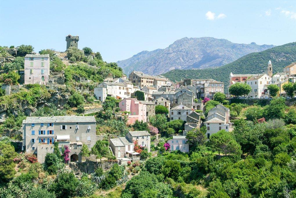 Hills of Nonza