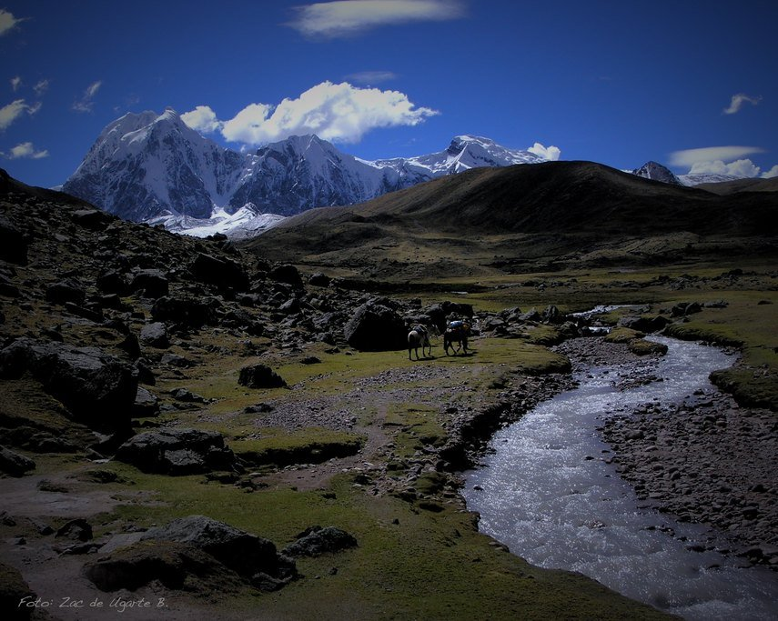 Day 3, Ausangate Cocha to Qampa. Photo courtesy of Quechua Treks