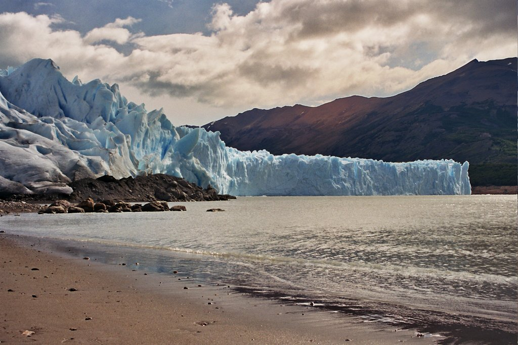 Glaciers around El Calafate.