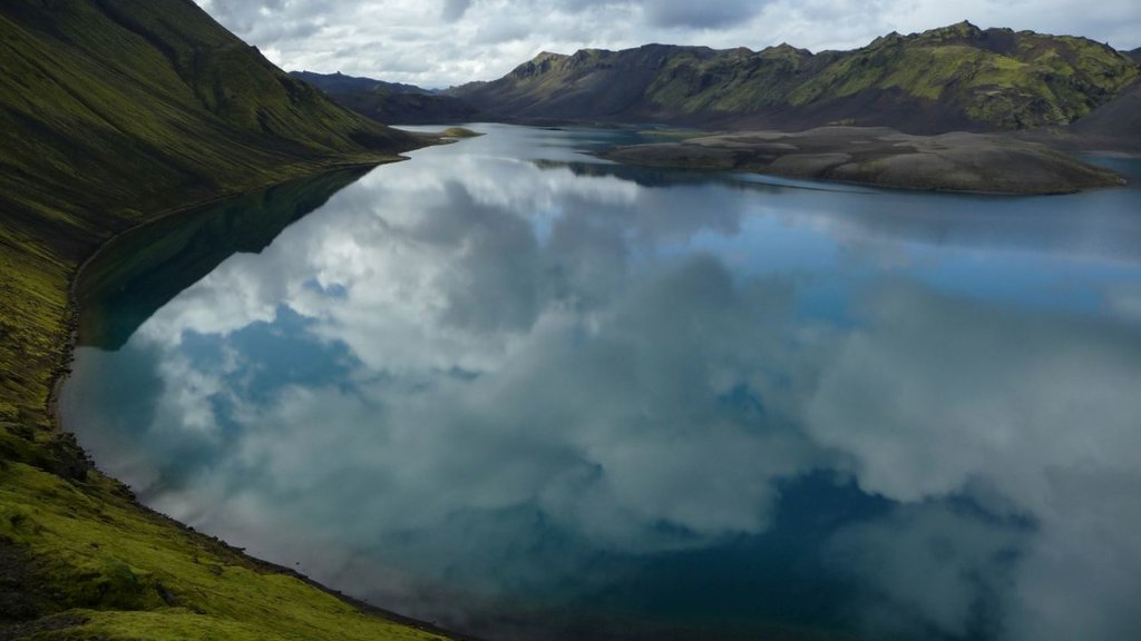 A lake near Landmannalaugar