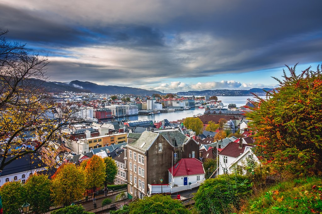 Bergen in Autumn