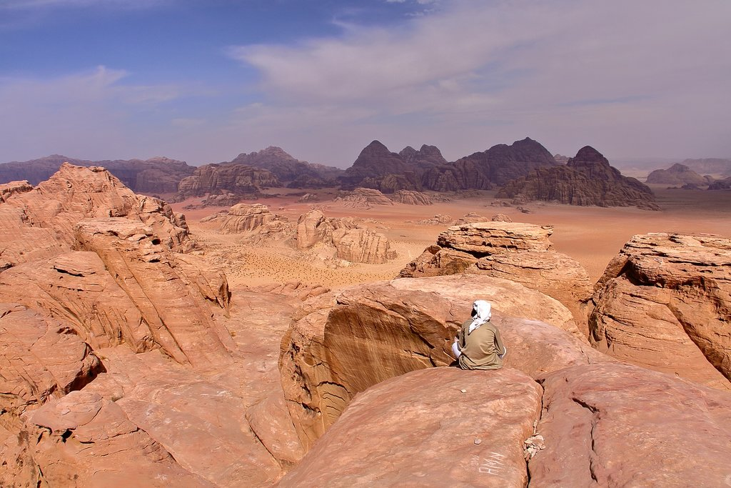 The epic desert of Wadi Rum