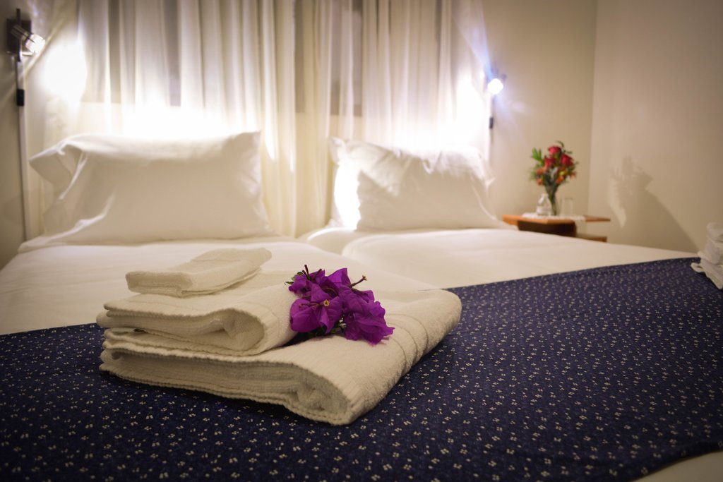 Visitors will sleep in high quality imported Scandinavian beds with fine linen and pillow menu's.