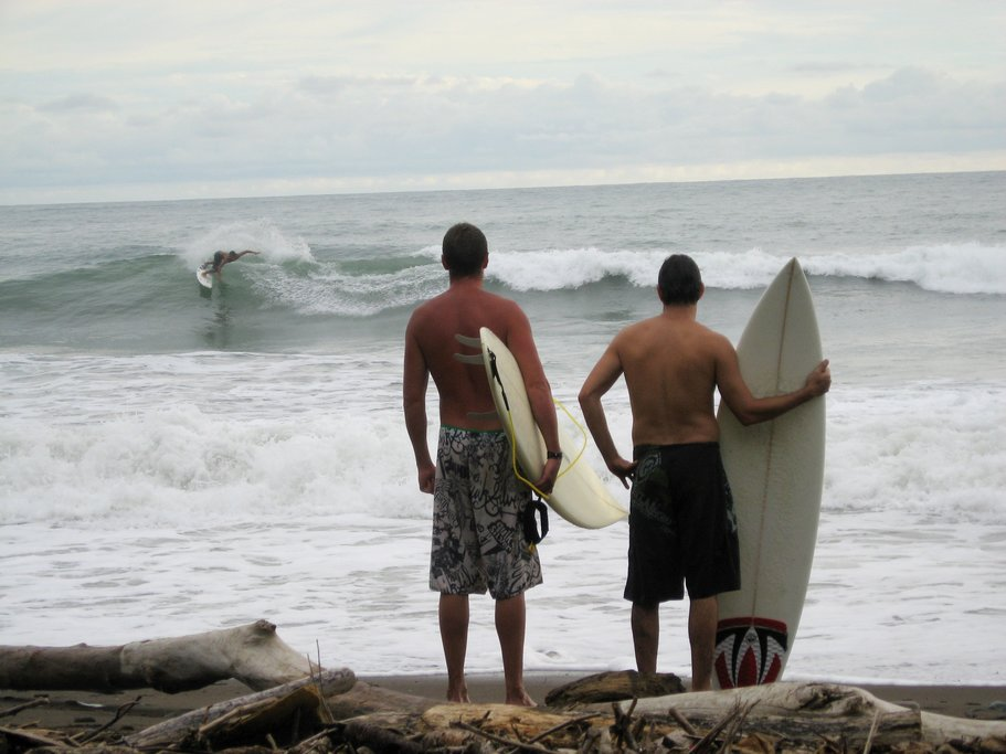 Pacific Coast Waves in Costa Rica